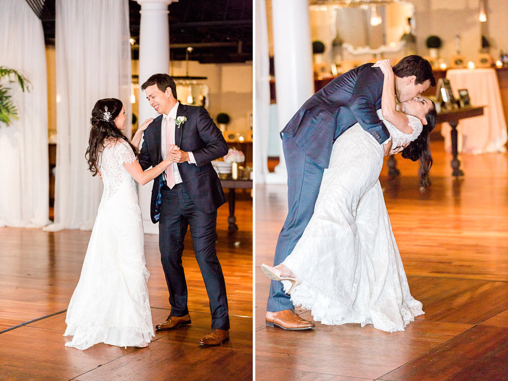 First dance in the white room