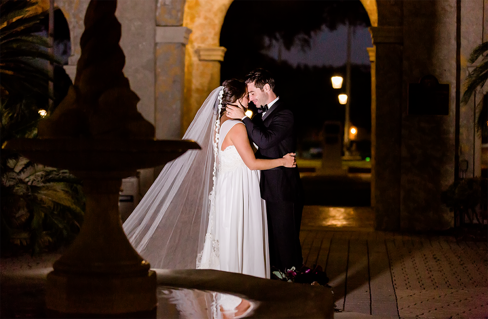 nighttime wedding photos in bolles school.png