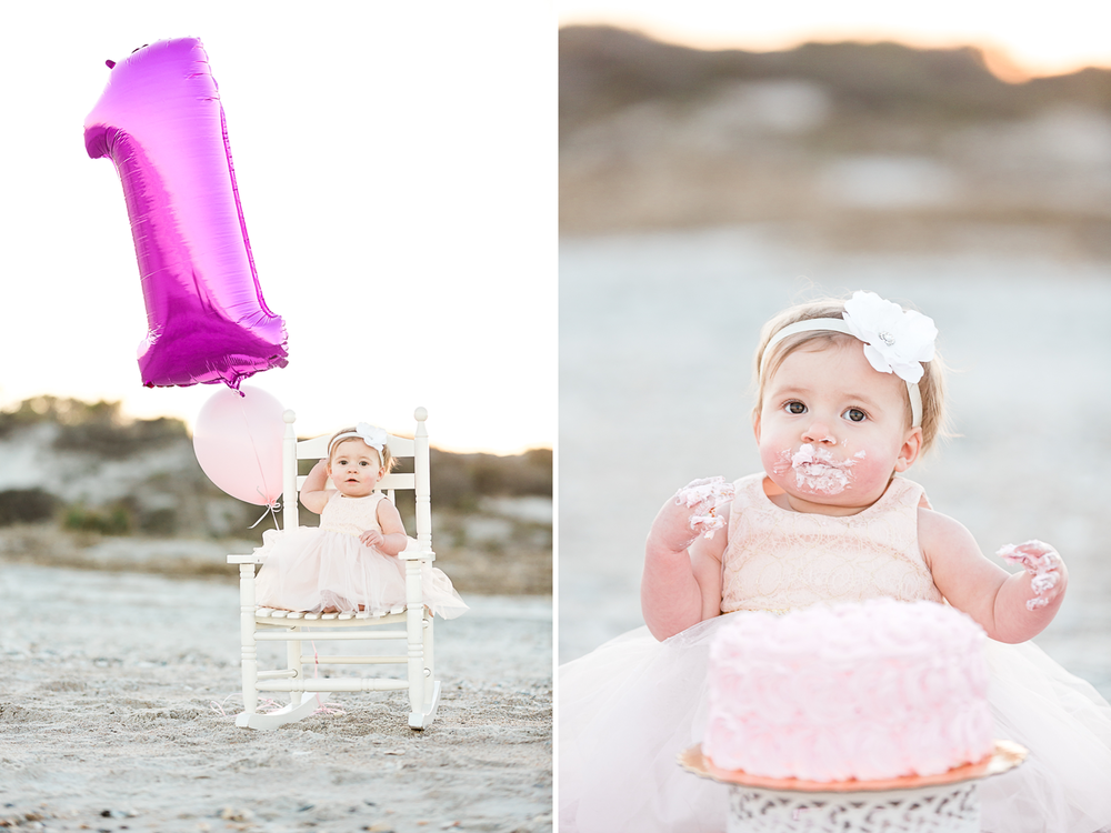 first birthday cake smash photos in jacksonville fl