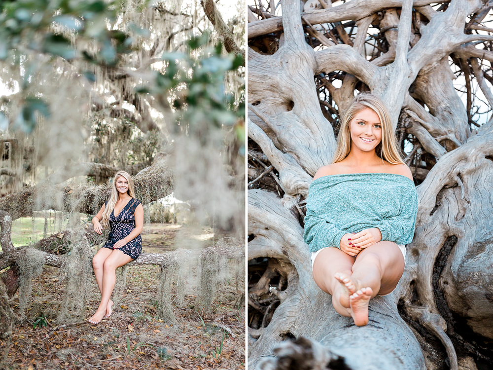 senior photos in Jekyll Island