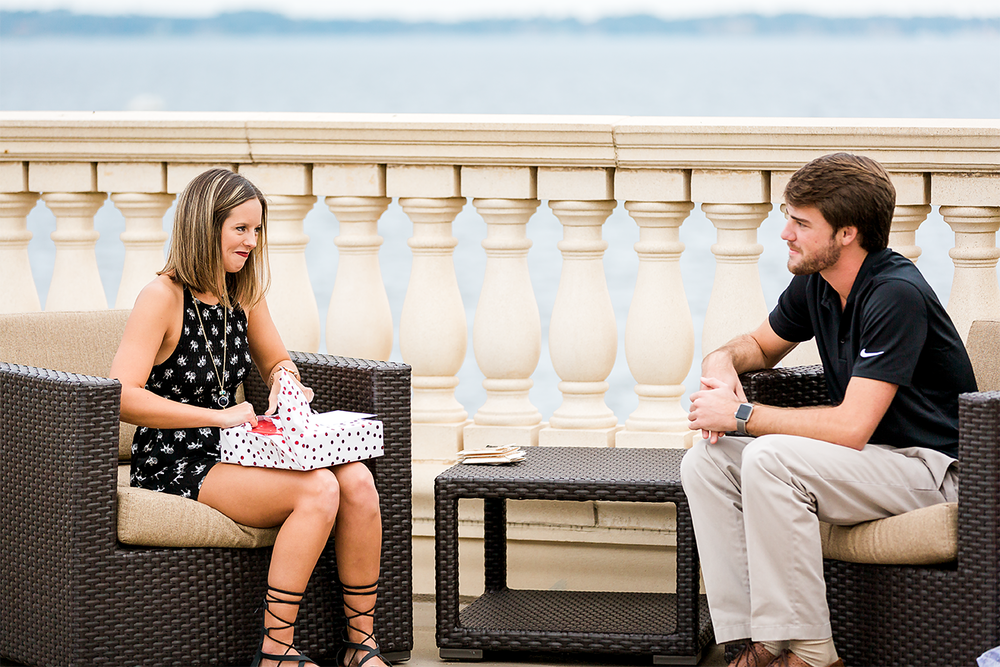 Florida Yacht Club surprise proposal