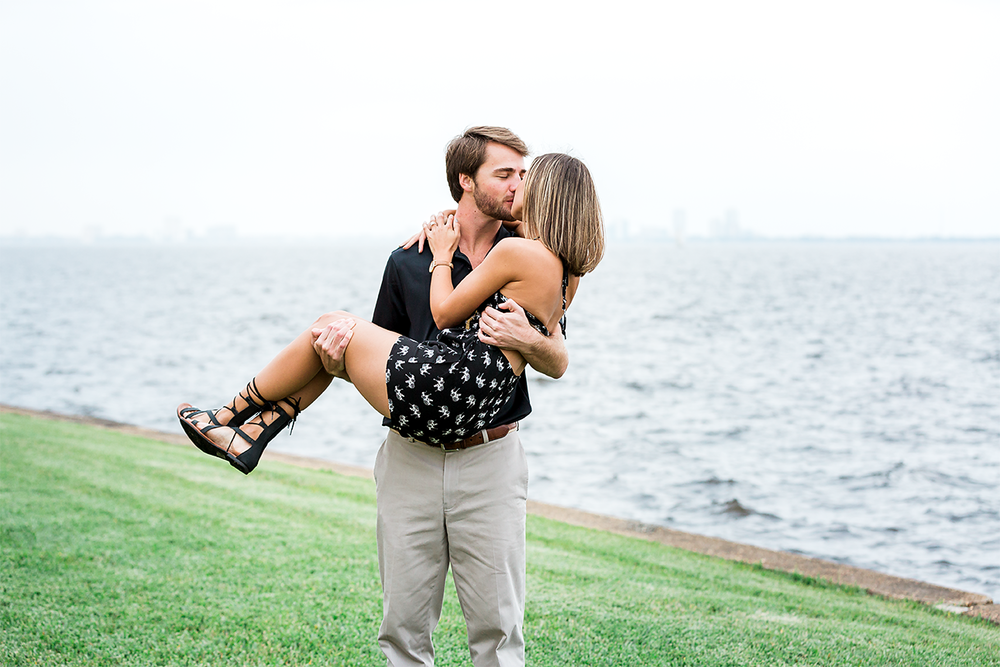Romantic surprise proposal in Jacksonville, FL