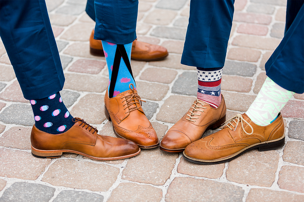 groom and groomsmen shoes and socks