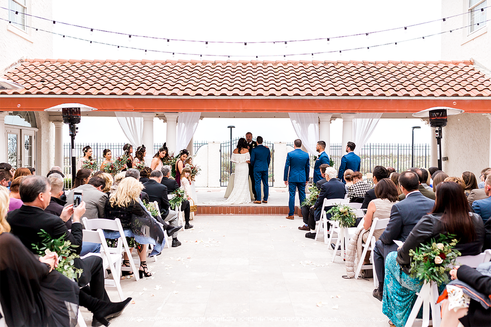 casa marina hotel winter wedding
