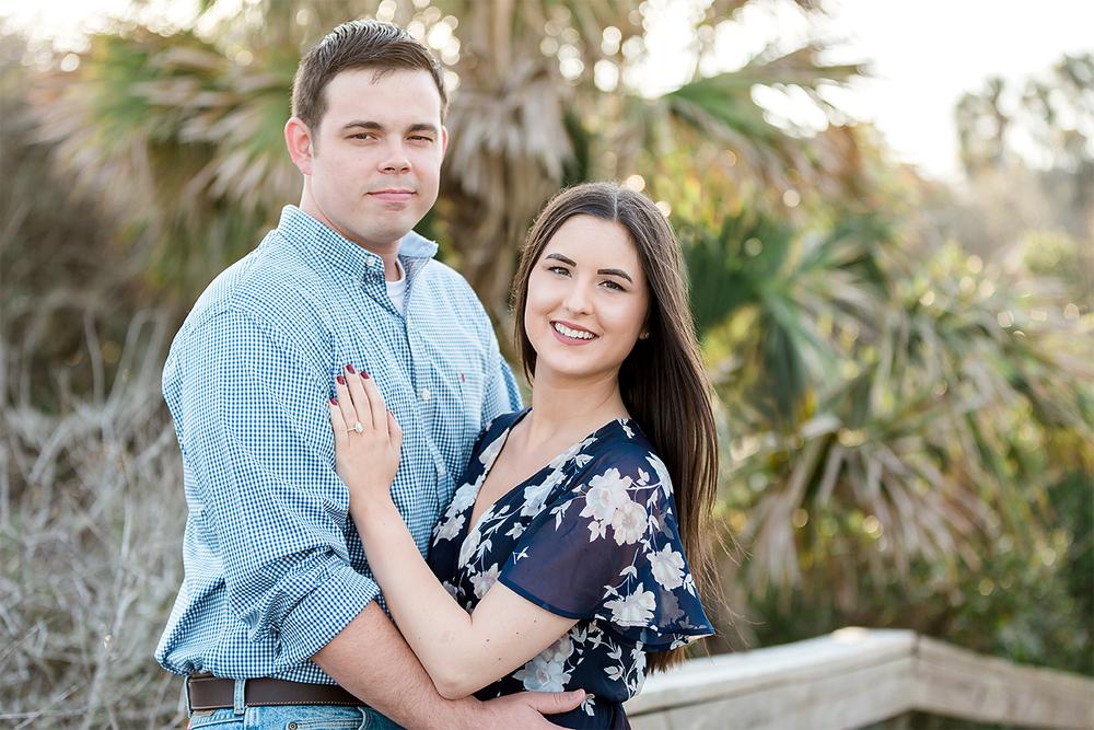 Hanna Park engagement session in Jacksonville FL