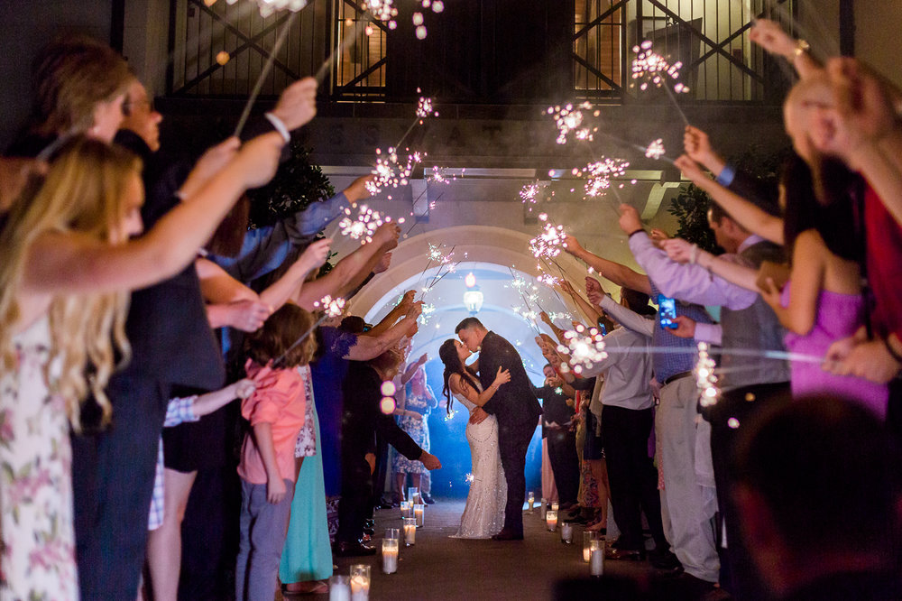 sparkler exit in nocatee crosswater hall