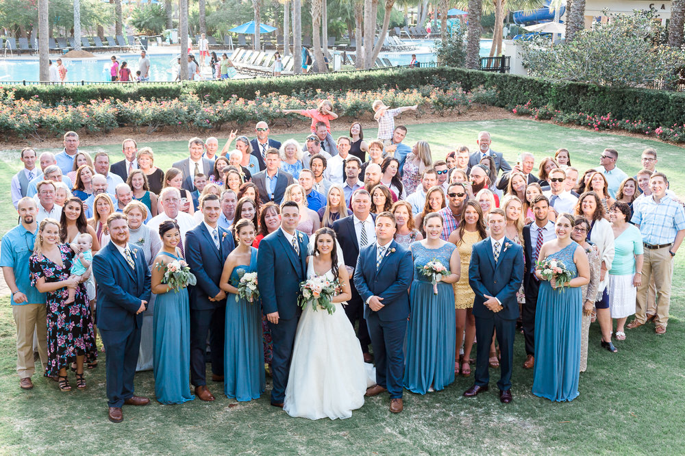 the entire wedding party picture ideas