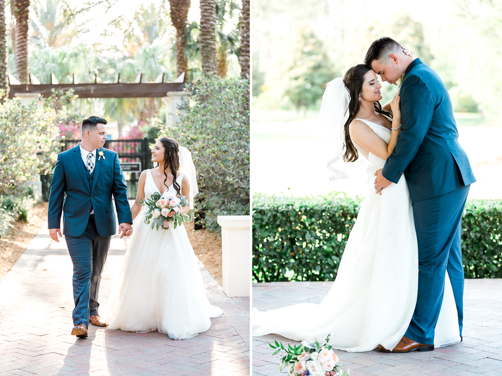 bride and groom pictures in ponte vedra, fl