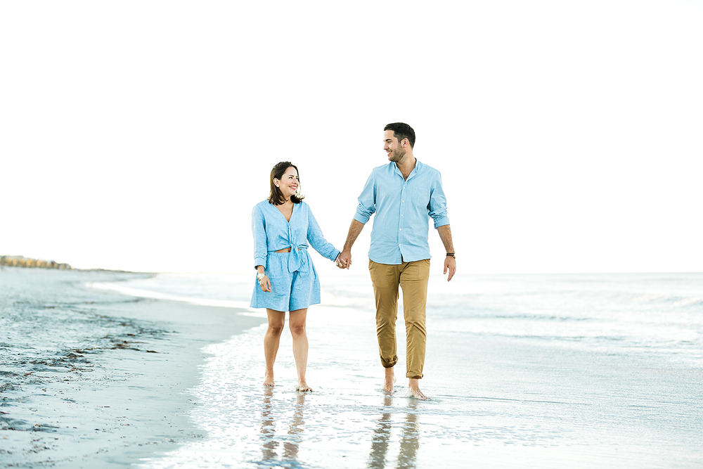 jacksonville beach engagement photography