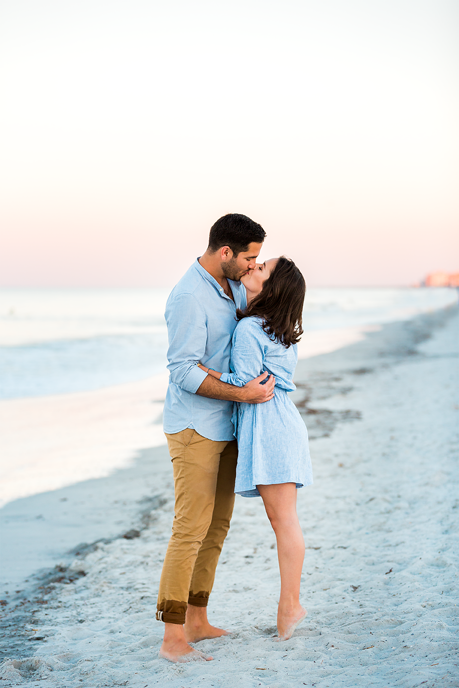 jacksonville and ponte vedra surprise proposal at the beach