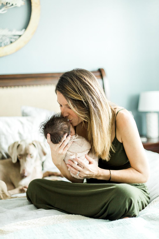 lifestyle newborn picture ideas