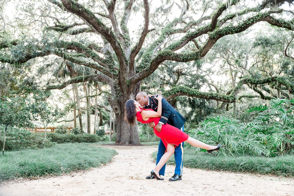 ponte vedra engagement photographer