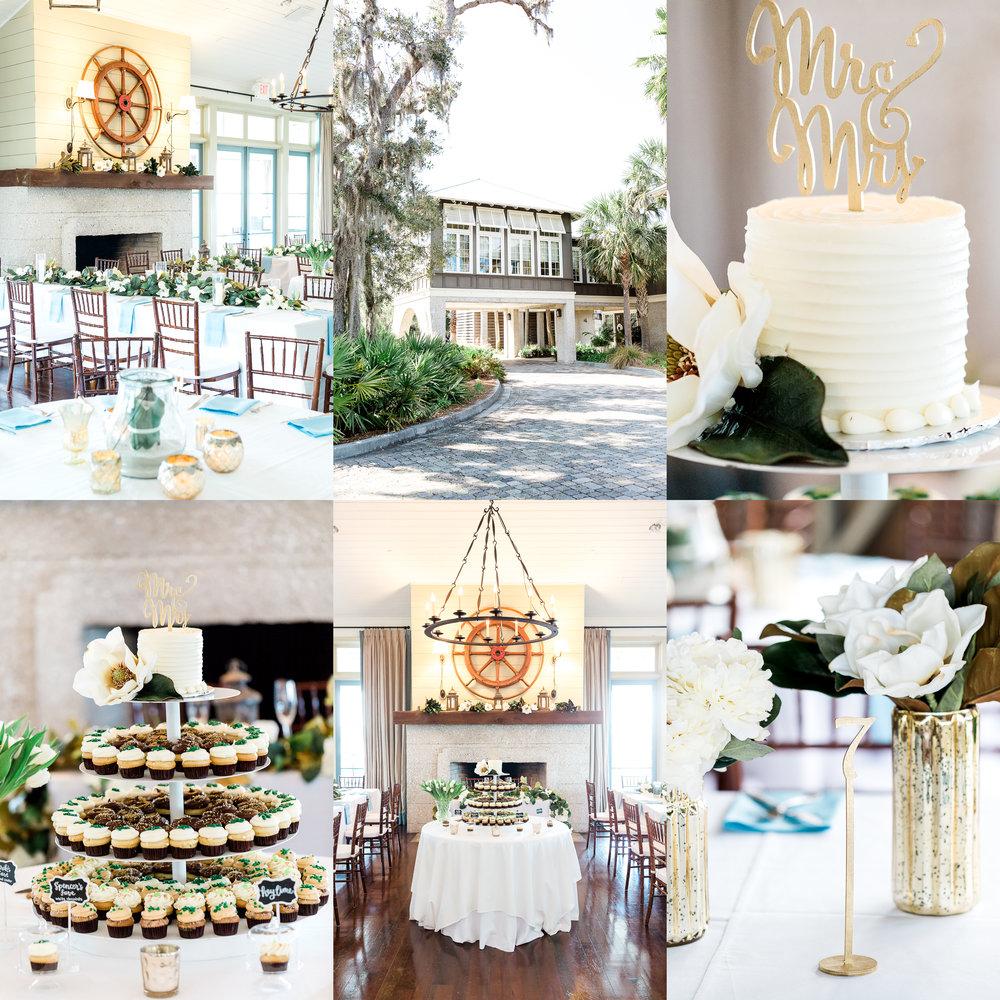 oyster bay yacht club wedding details and decor ideas_fernandina beach wedding