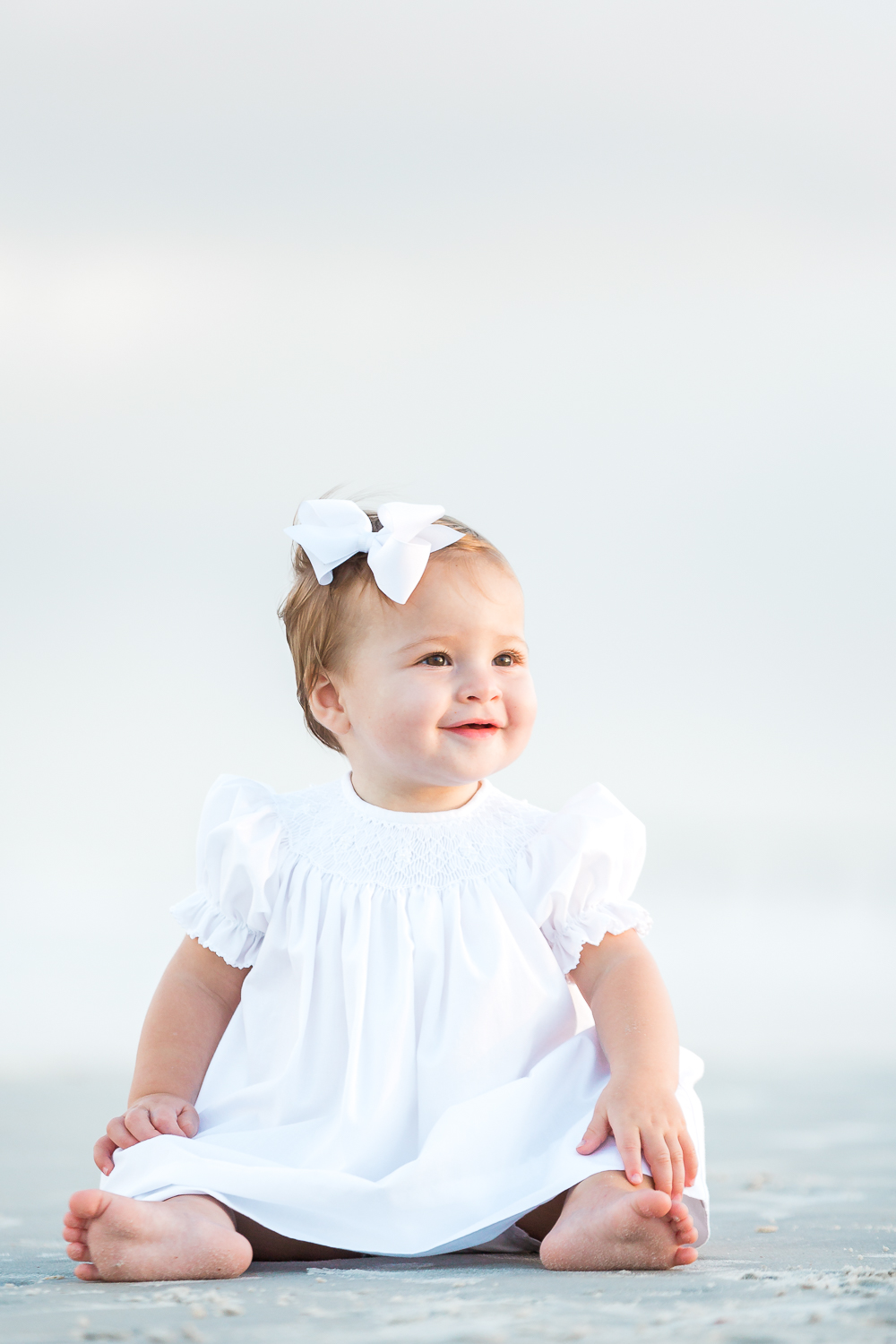 toddler photos at the beach in st.augustine