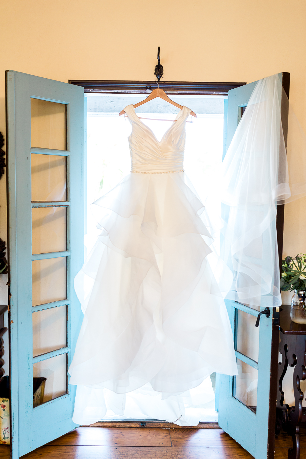 Maggie Sottero wedding dress in Casa Feliz