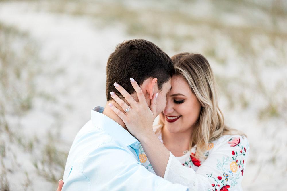 proposal photoshoot in amelia island
