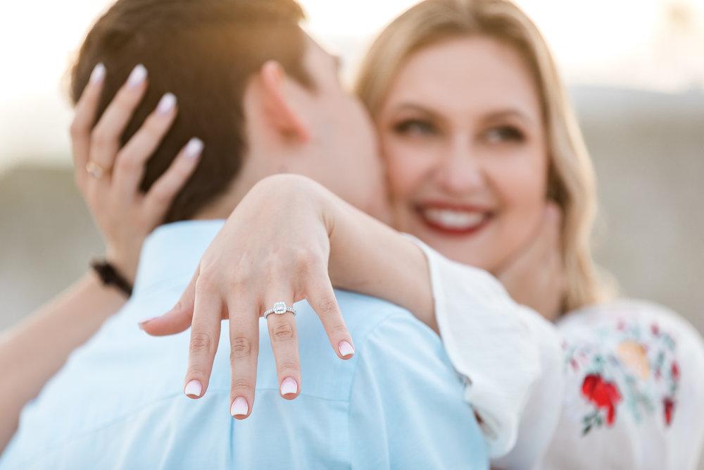 surprise proposal in elizabeth pointe lodge