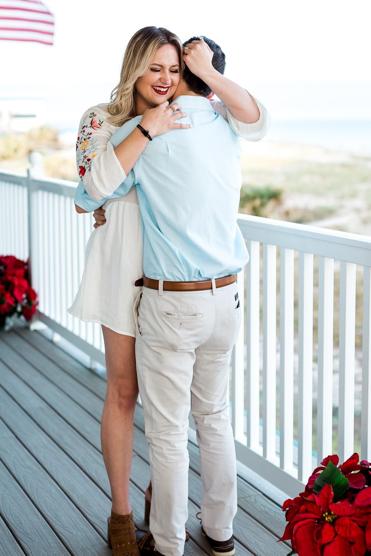 she said yes - proposal in amelia island