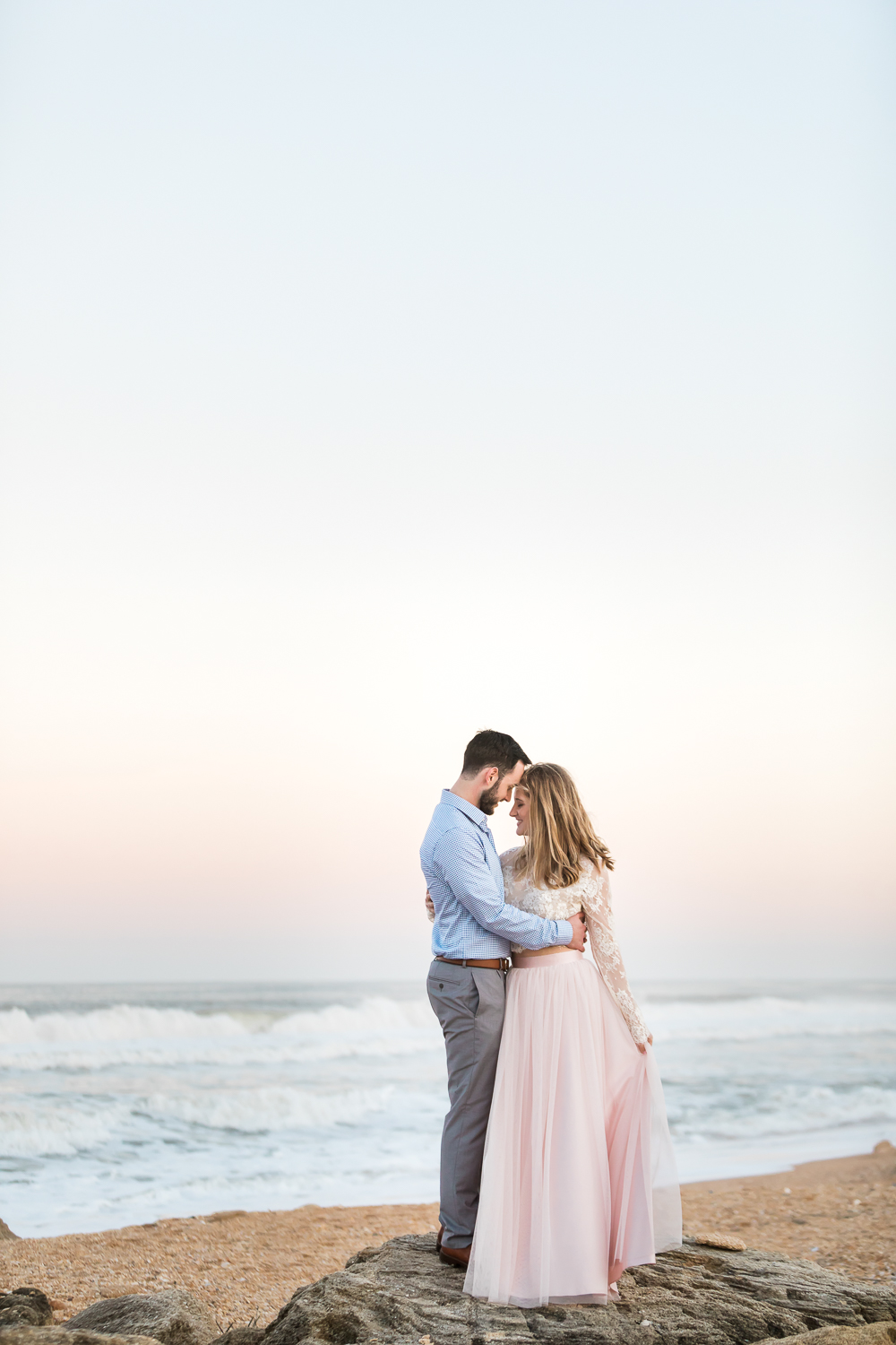 Washington Oaks engagement pictures