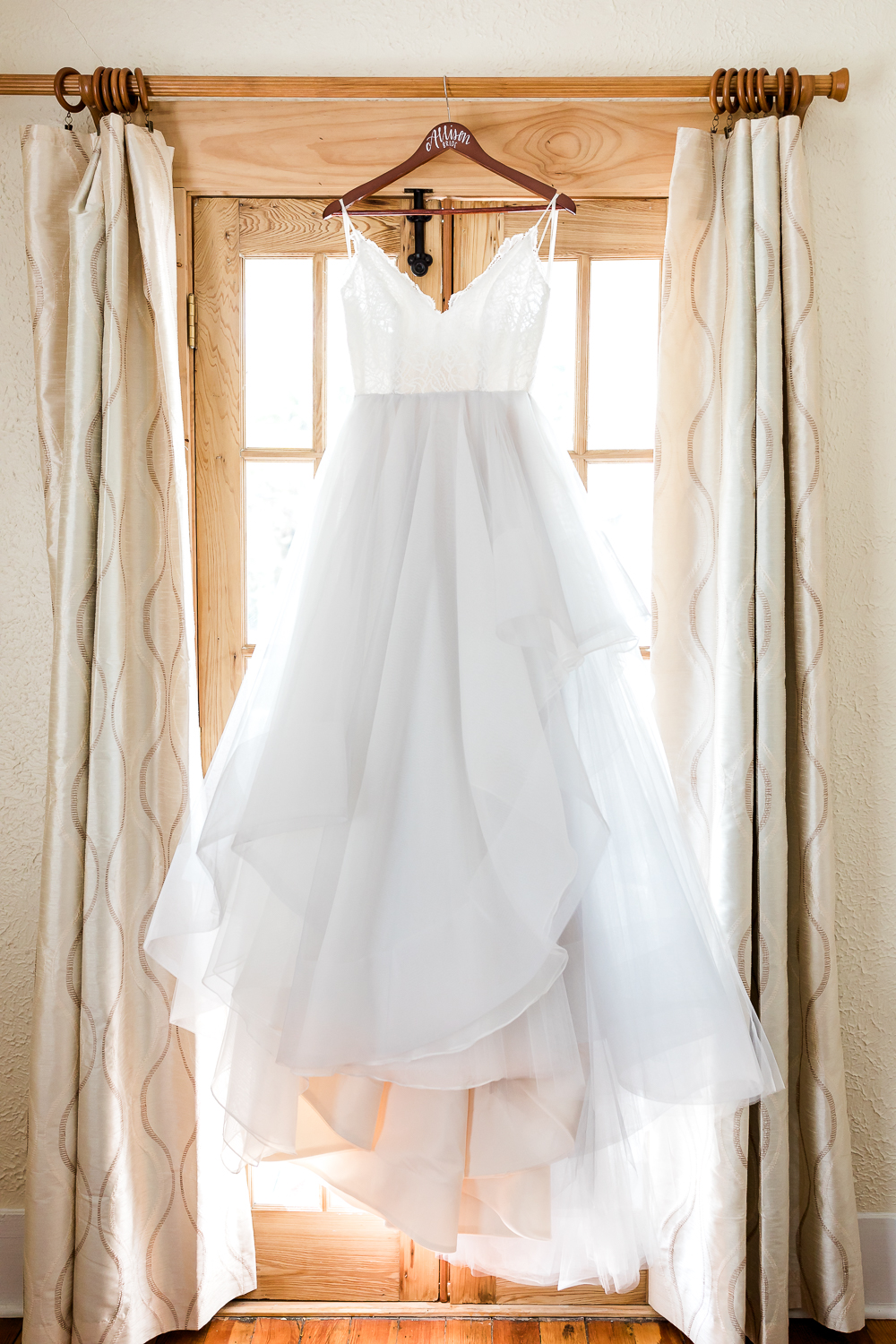 Hayley Paige wedding dress in St.Augustine's wedding