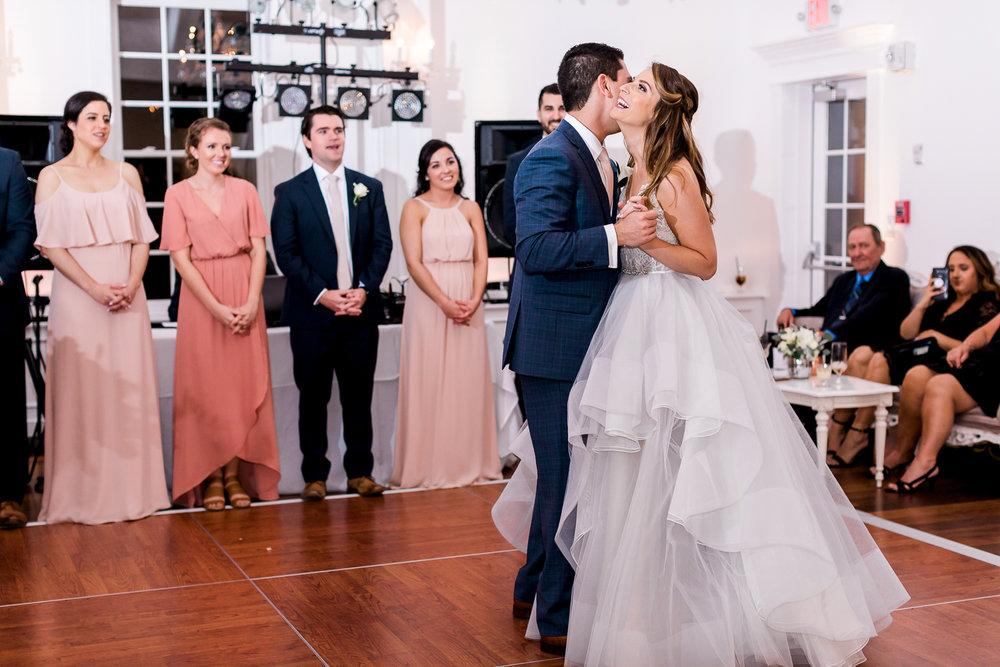 first dance in villa blanca wedding