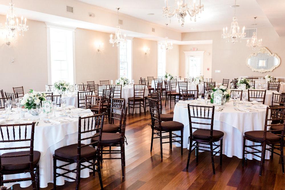 Villa Blanca wedding reception ideas