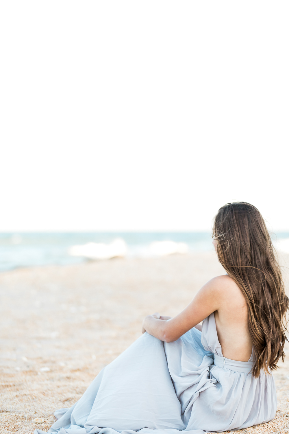 Ponte Vedra beach senior photoshoot