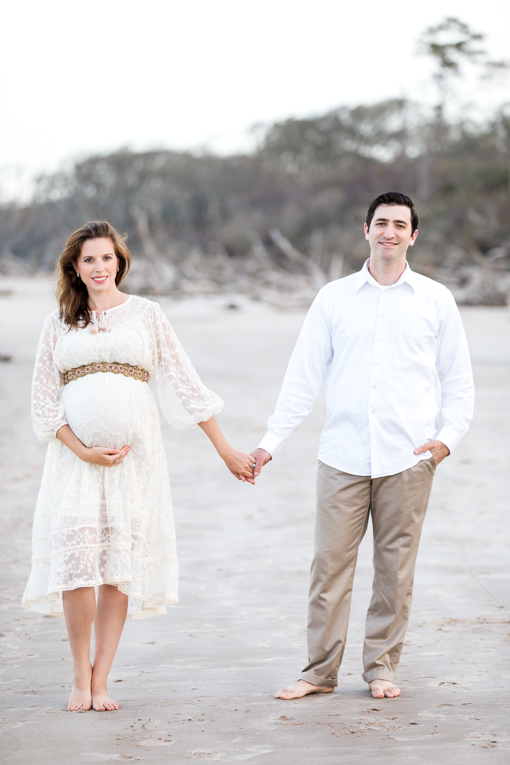 Suset maternity pictures at the beach