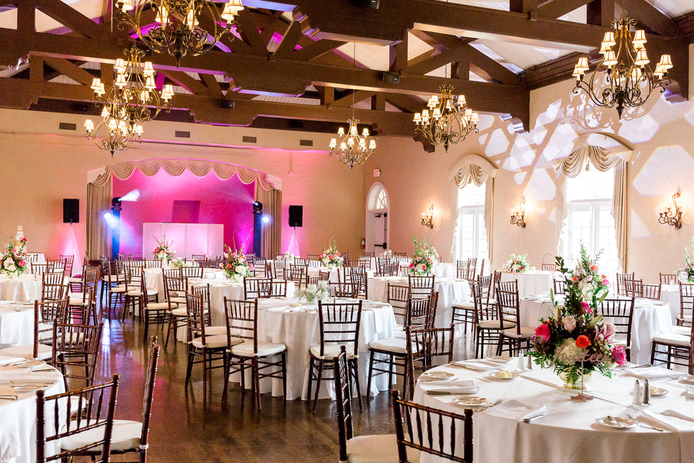 Wedding reception in the Florida Yacht Club