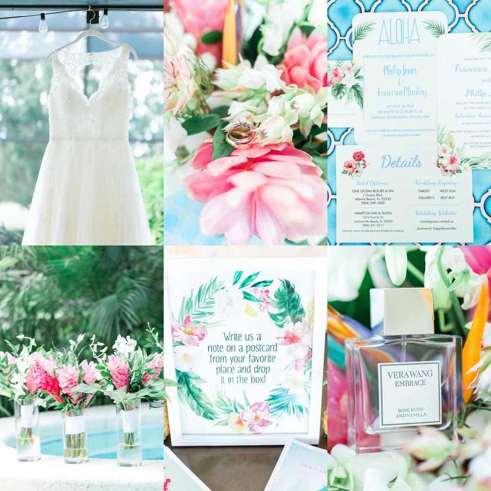 Hawaiian themed wedding in jacksonville fl.jpg