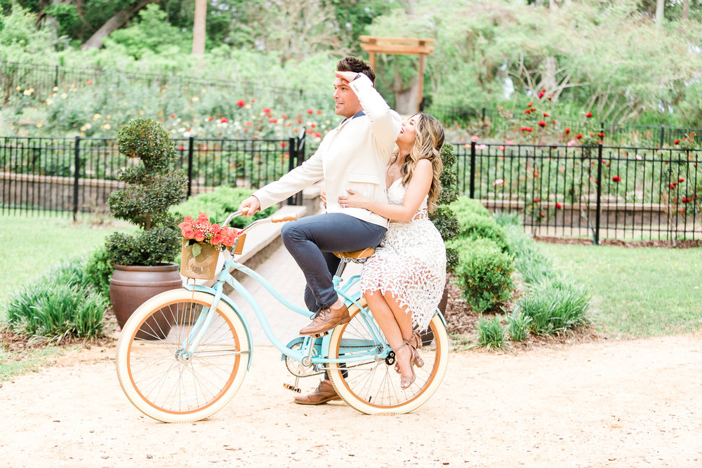 Fun engagement posing ideas