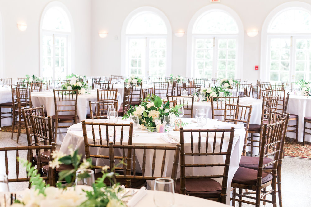 the ribault club wedding decor