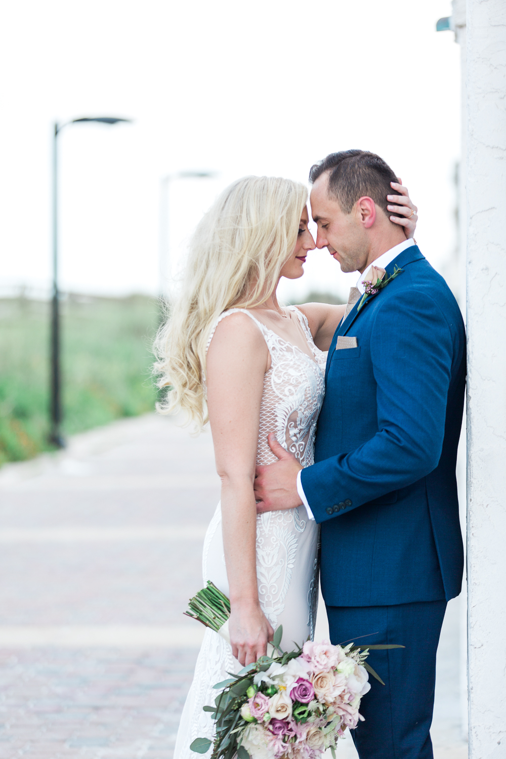 jacksonville beach wedding in casa marina hotel