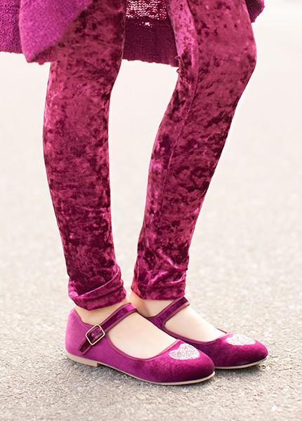 Joyfolie velvet leggings- size 2T
