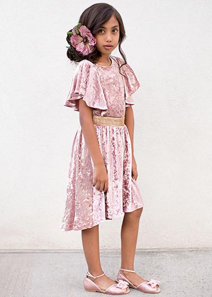 Joyfolie dress in blush pink - size 4T
