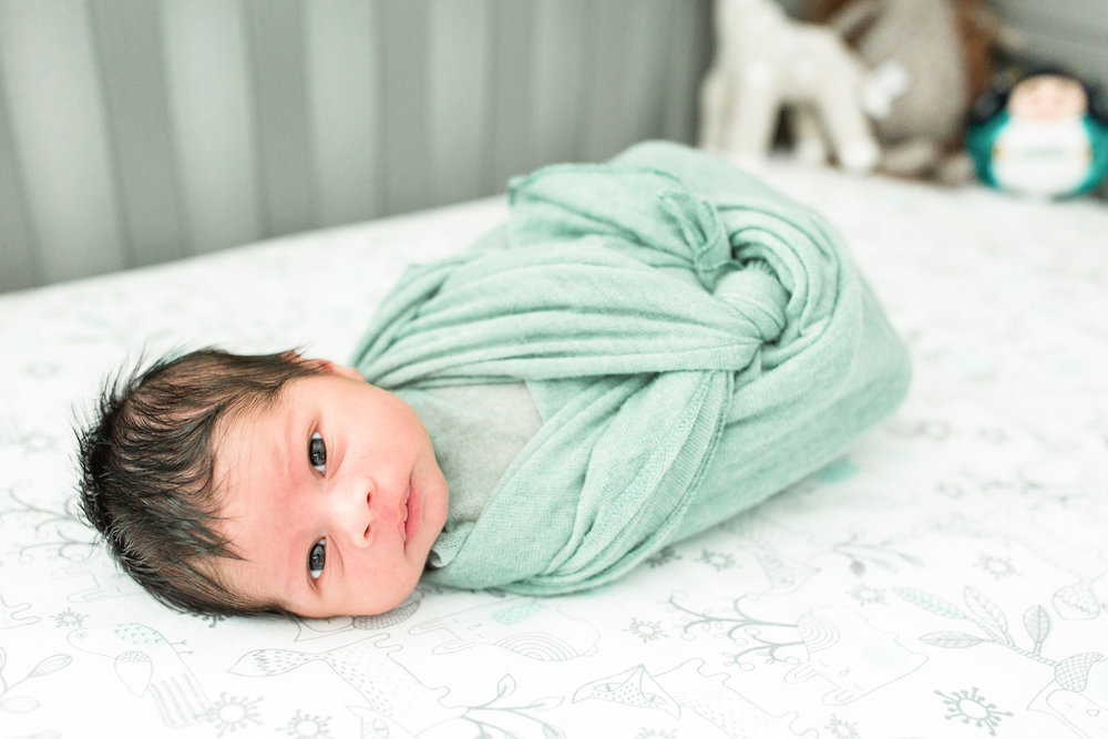 jacksonville lifestyle newborn photography
