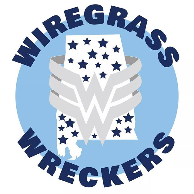 Hey Wreckers fans! Check out our brand new Wiregrass Wreckers logo! We'll be rockin' this awesome logo on our new jerseys this season! Huge shout out to Audrey Overcast Design for taking a hand drawn idea and turning it into something totally awesome!  #dothanrollerderby #wiregrasswreckers  #WreckIt #lovinourlogo #overcastdesign