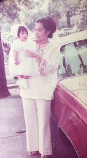 Mama and me in Passaic, NJ