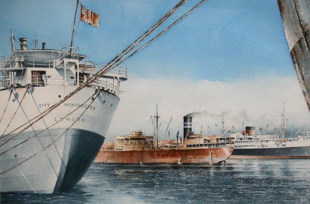 Port Melbourne 1956