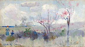 Herrick's blossoms (c.1889) by Charles Conder Collection of National Gallery of Australia, Canberra