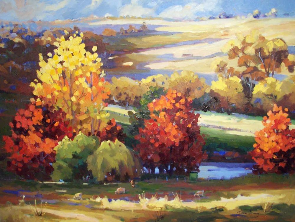 Autumn Landscape, Barakee