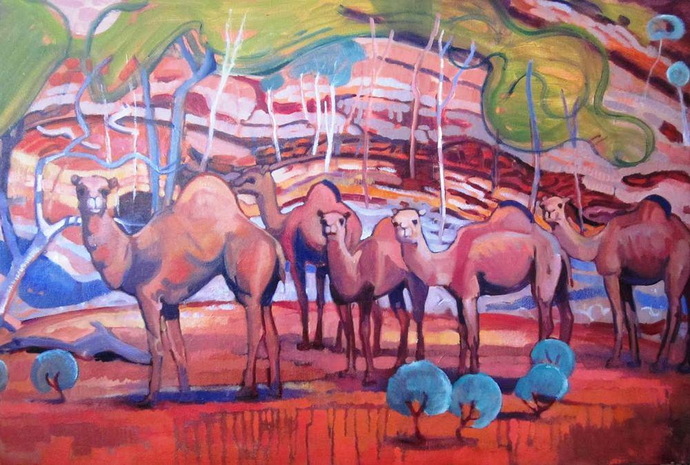 Camels, Outback