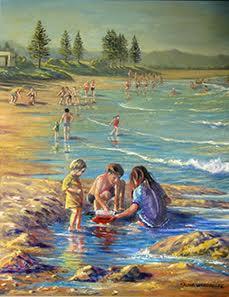 Fun at Wollongong, North Beach