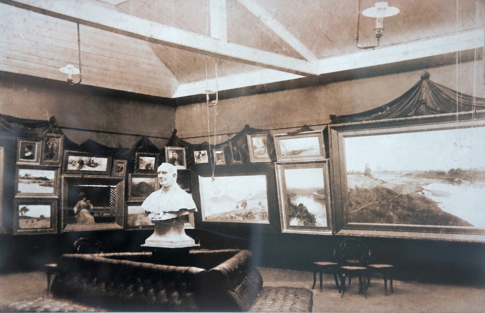 Royal Art Society rooms in 1899