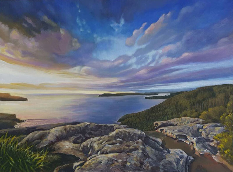Landscape (Acrylic)