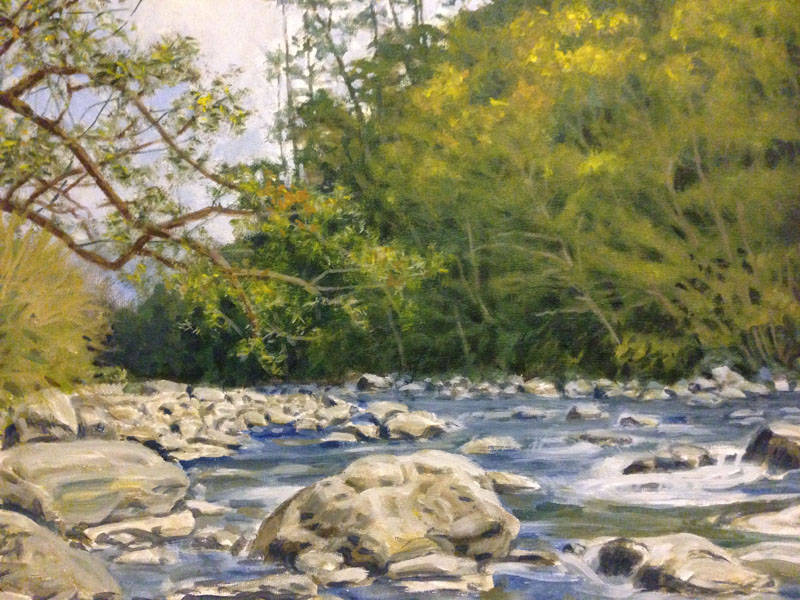 River (Acrylic)
