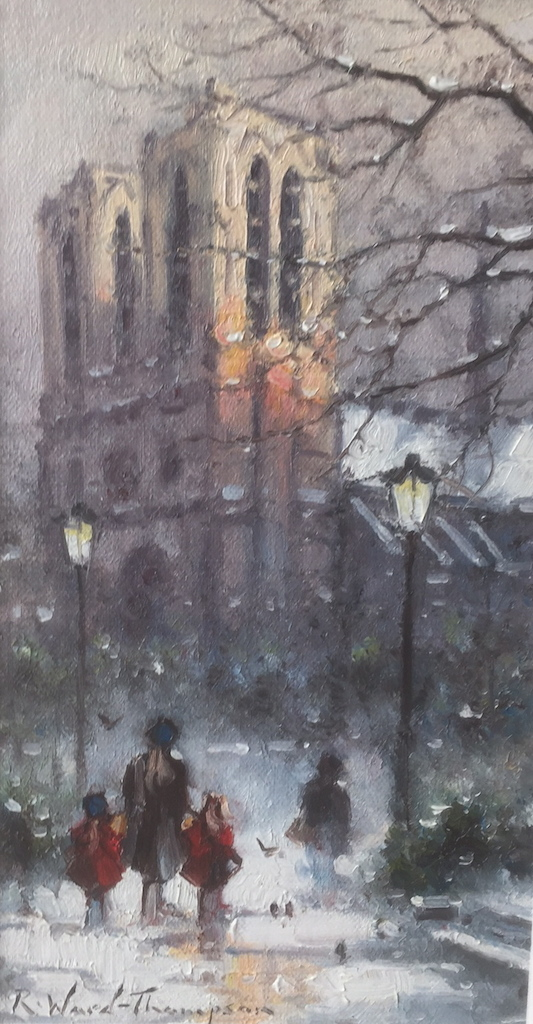 Winter in Paris by Ramon Ward Thompson FRAS