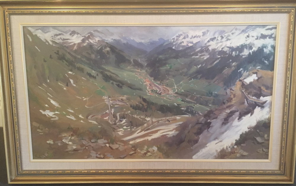 Simplon Pass by Pamela Thalben Ball FRAS