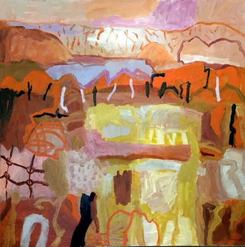 Outback by Yvonne Langshaw FRAS