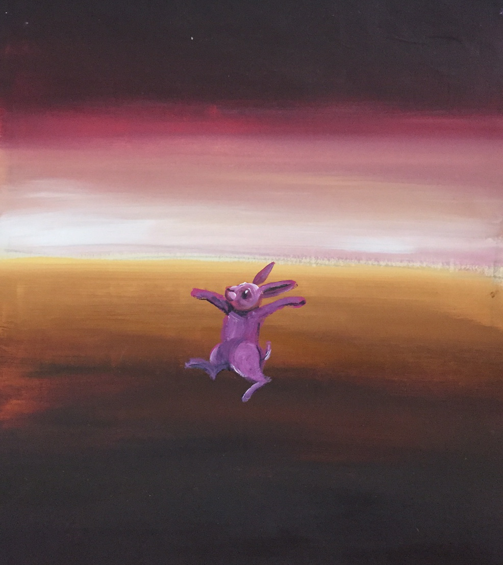Watch Out for that Purple Wabbit by Karen Atkins FRAS